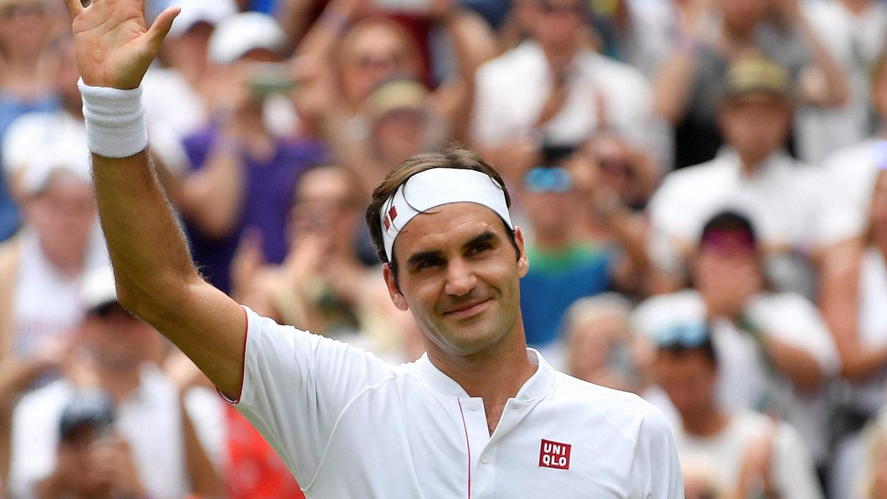 Roger Federer je jednou z tváří značky Uniqlo. Přišel si tak na 300 milionů dolarů.
