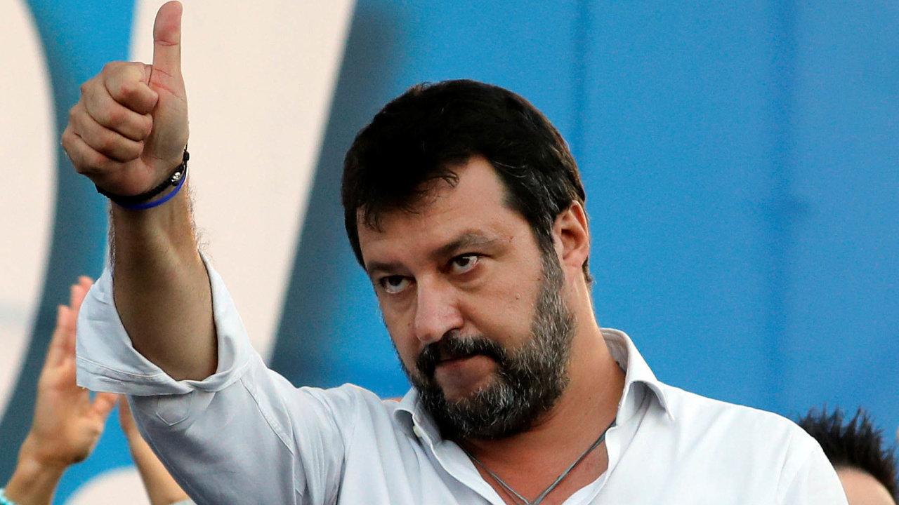 Poražený z Itálie,Matteo Salvini