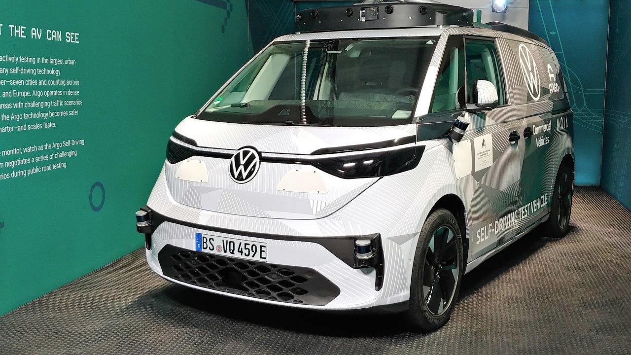 Prototyp autonomního VW ID.Buzz