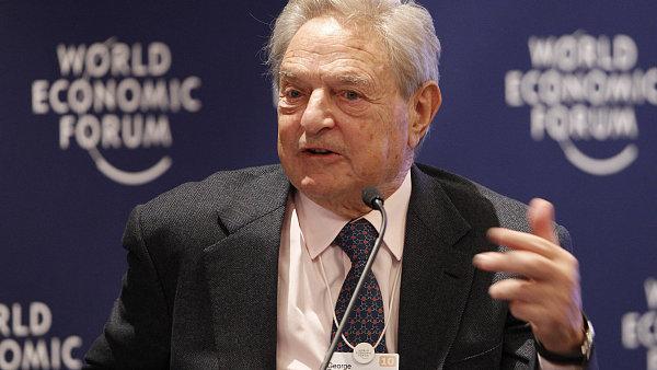 Miliardář George Soros je pravidelným účastníkem Světového ekonomického fóra v Davosu.