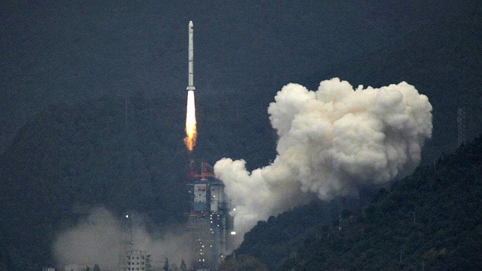 Čínská raketa Chang Zheng 3A (Dlouhý pochod)