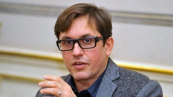 Na snímku někdejší umělecký šéf a doposud i ředitel Činohry Národního divadla Michal Dočekal.