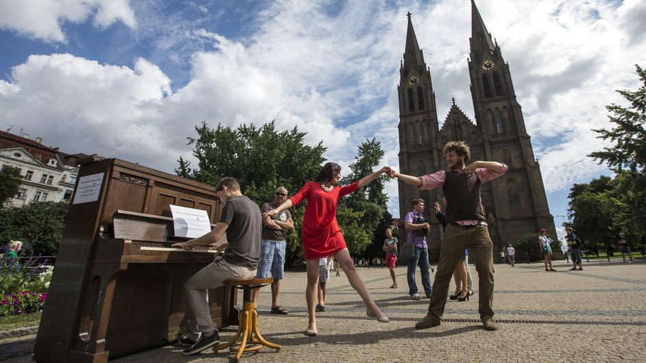 Piano na ulici