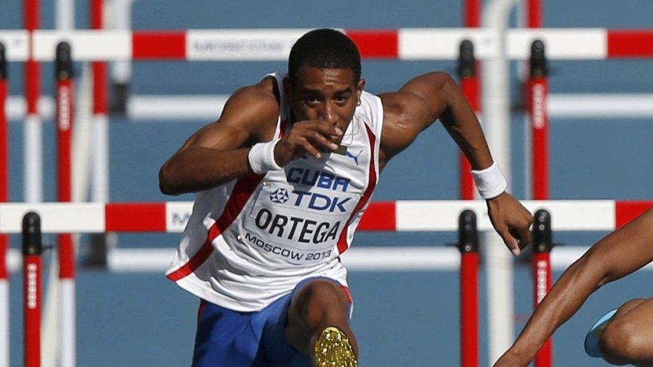 Orlando Ortega na šampionátu v Moskvě