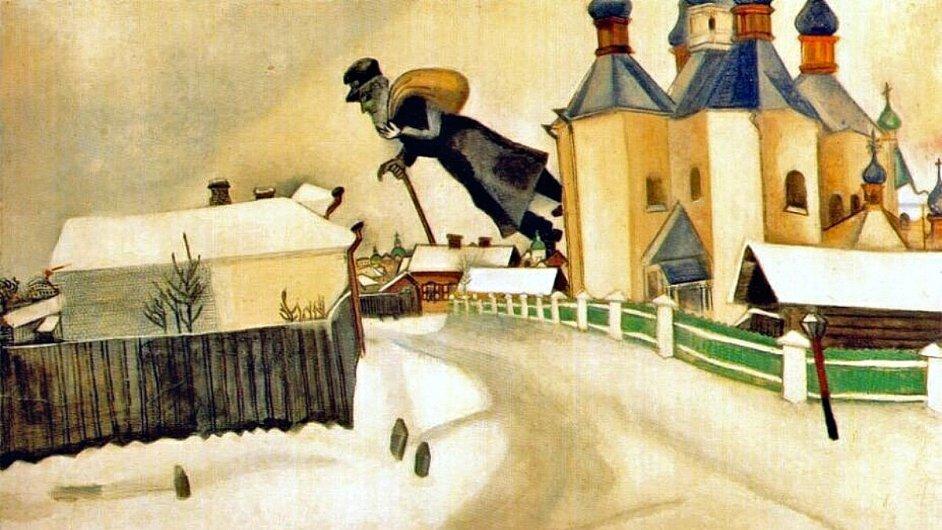 Z výstavy Chagall: Modern Master