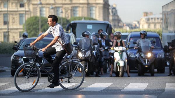Dopravní provoz v Paříži