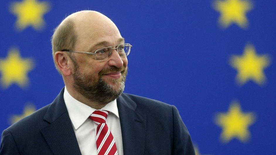 Staronový předseda Evropského parlamentu Martin Schulz.