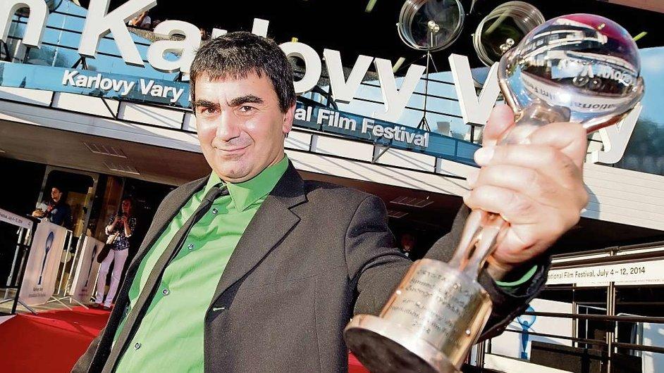 Gruzínský režisér George Ovašvili s filmem Kukuřičný ostrov vyhrál festival ve Varech.