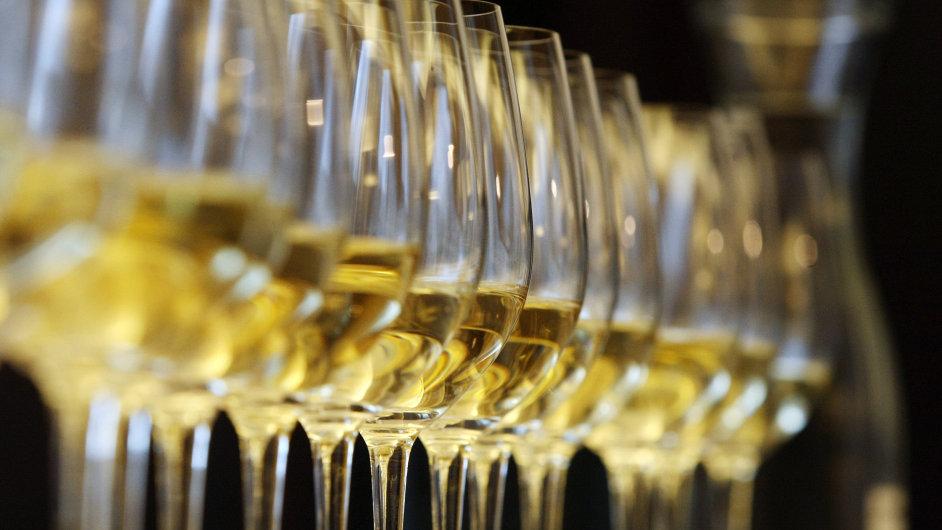 Stáčená vína jsou v Česku velmi oblíbená.