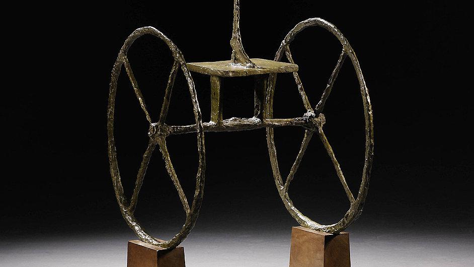Giacomettiho socha Vozataj z roku 1951 se vydražila za 101 milionů dolarů.
