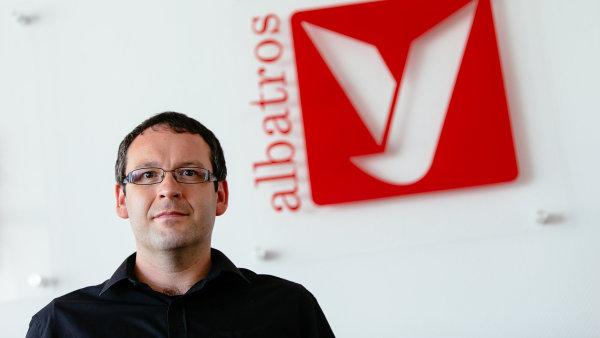 Na snímku je generální ředitel vydavatelské skupiny Albatros Media Václav Kadlec.