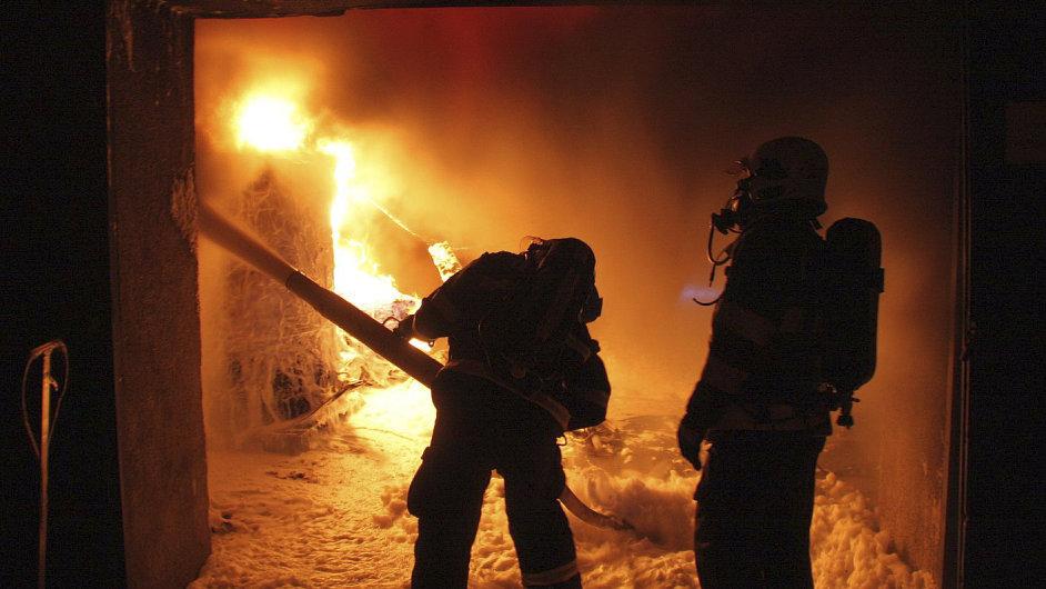 Požár - Ilustrační foto.