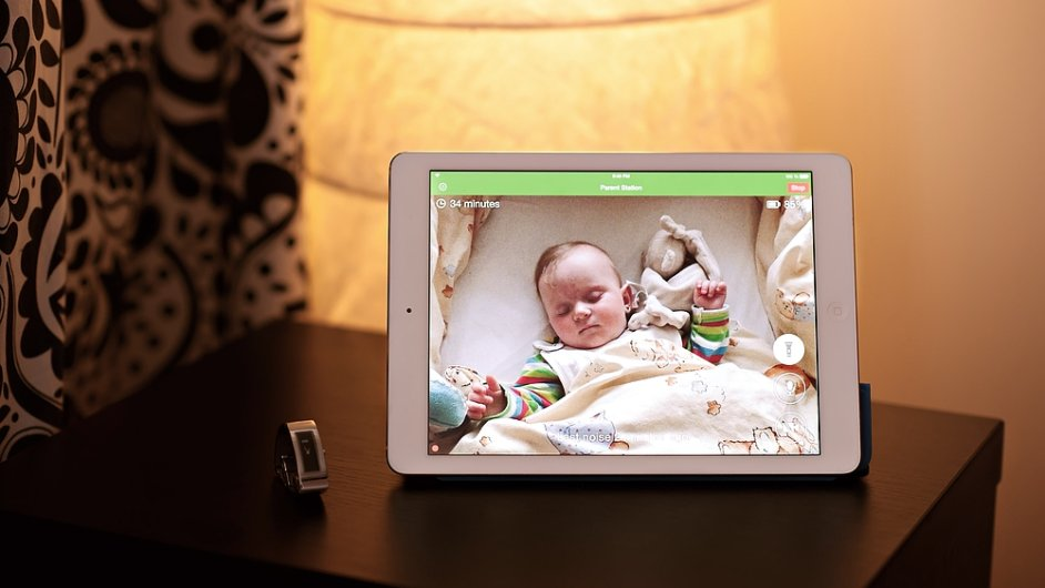 Baby Monitor 3G na iPadu