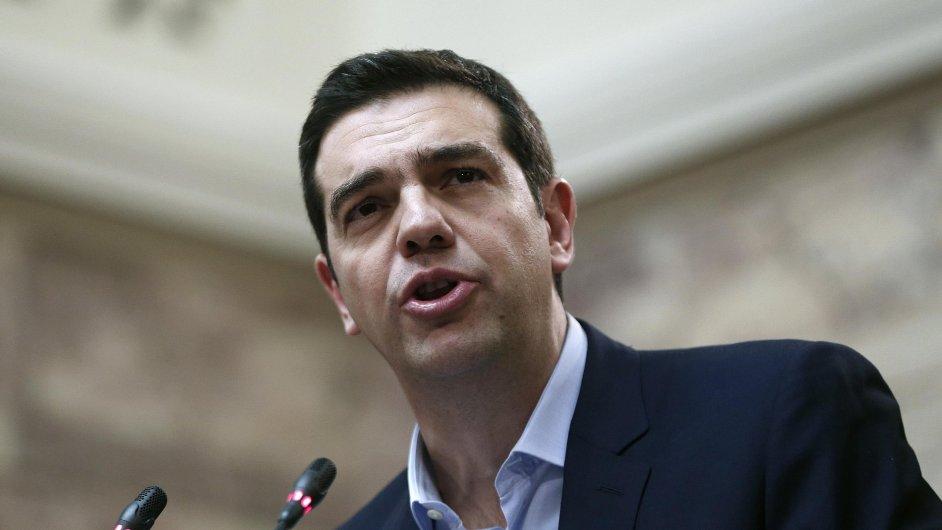 Řecký premiér Alexis Tsipras čelí kritice, že nedodržuje sliby Syrizy.