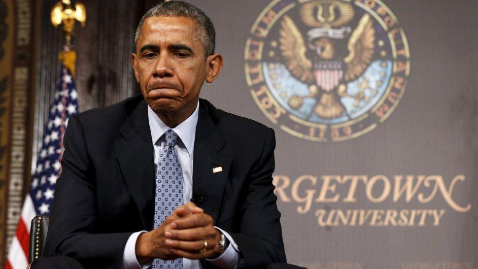Barack Obama narazil s dohodou o volném obchodu u demokratických senátorů.