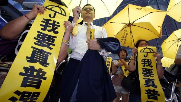 Hongkongská legislativní rada odmítla volební reformu Pekingu. Ilustrační foto