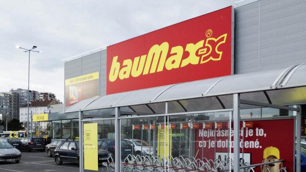 Staronové prodejny Baumax se otevřou nejpozději na začátku března.
