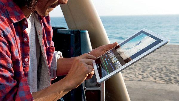 Multimediální obsah na tabletech sleduje 1,34 milionu lidí