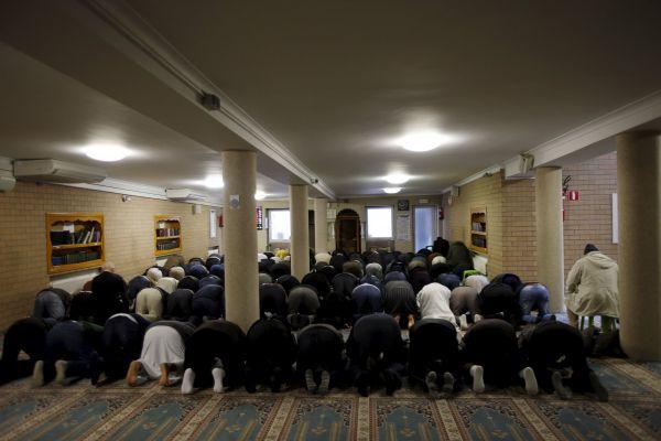 Mešita ve čtvrti Molenbeek