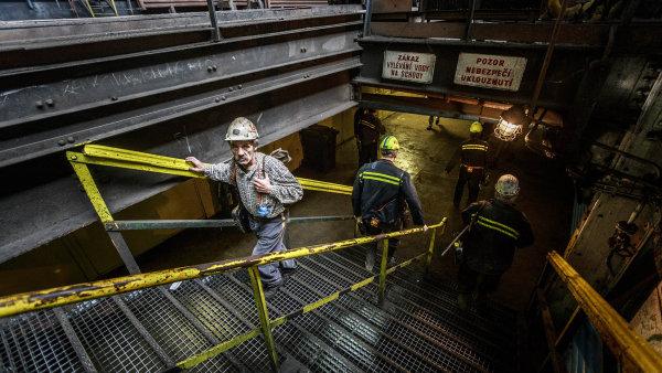 Ztrátové doly:uhlí naOstravsku se těží zavětší peníze, než zajaké je možné ho prodat.