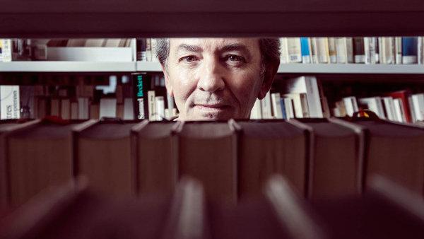 Francouzský spisovatel Jean-Marie Blas de Robles navštívil Prahu koncem ledna.