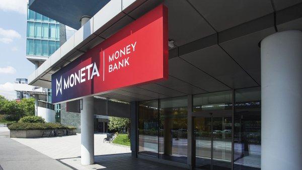 Bance Moneta Money Bank ve čtvrtletí klesl zisk na 1,08 miliardy korun.