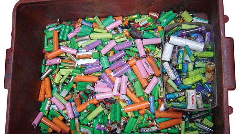 Baterie - Ilustrační foto.