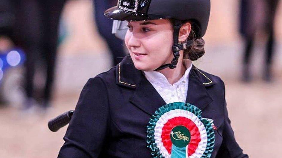 Anastasja Vištalová bude jako první reprezentovat Česko na paralympijských hrách v jezdectví.