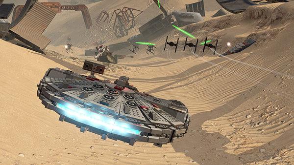 Proslulé jsou stavebnice Lego na téma Hvězdných válek - Ilustrační foto.