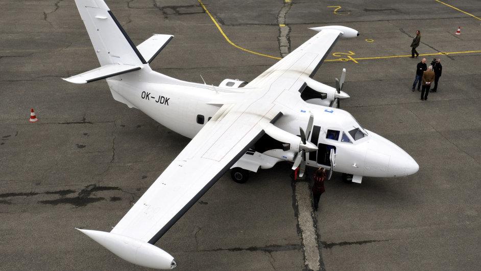 Současná verze letounu L 410: UVP-E20