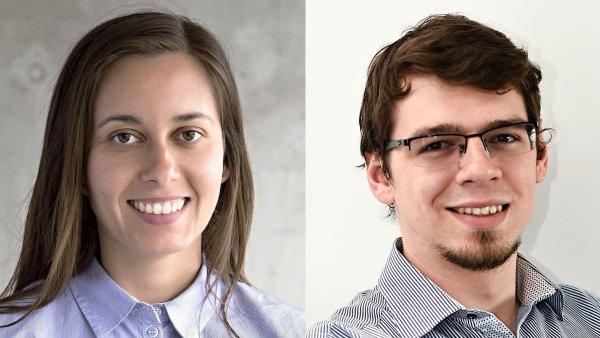 Petra Durková a Jan Dudek, contentová agentura Newcast