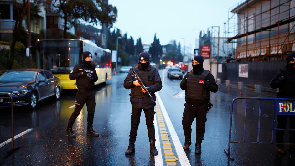 Turecko, Istanbul, Atentát, Terorismus, Nový rok, silvestr