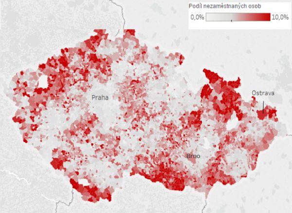 Nezaměstnanost je v Česku nejnižší za devět let.