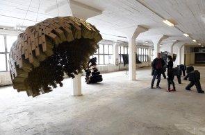 Průmyslový areál Pragovka se otevřel veřejnosti, konaly se tu výstavy i prohlídky s pamětníky