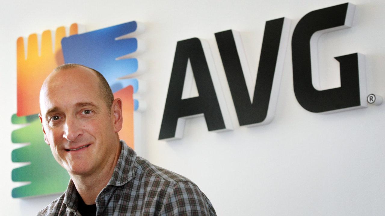 Generální ředitel AVG Technologies J.R. Smith.