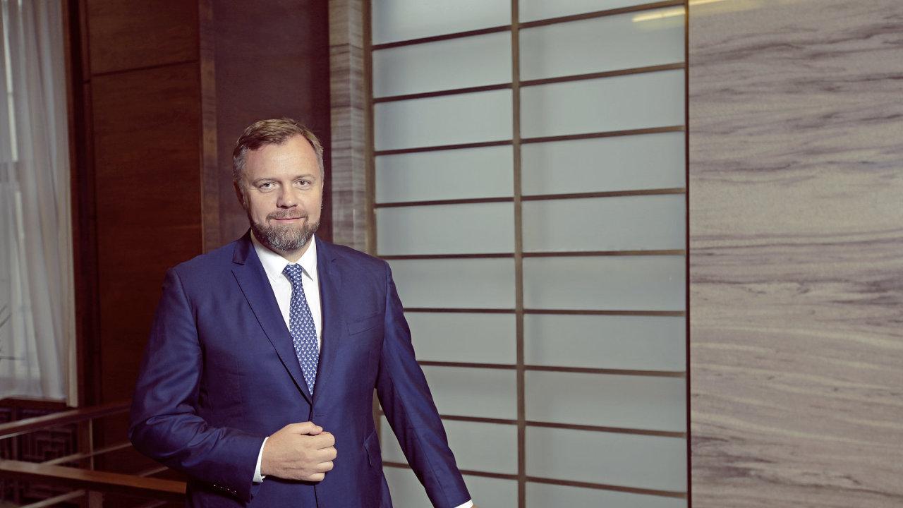 Nový šéf Komerční banky Jan Juchelka
