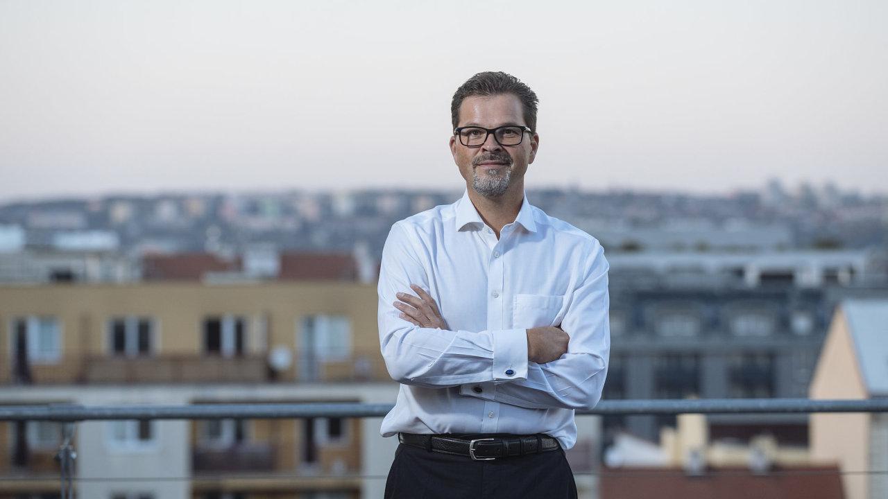 Manažer ESA Frank Salzgeber.
