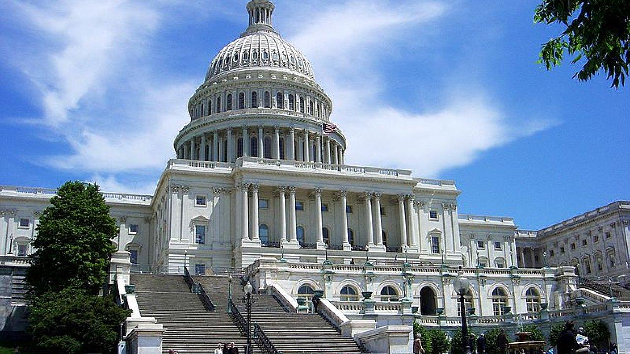 Kapitol ve Washingtonu, sídlo Kongresu USA