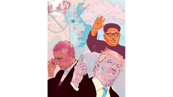 Baracka Obamu vystřídal Donald Trump, severokorejský diktátor Kim Čong-un nechal vystřelit balistickou raketu přes Japonské moře...