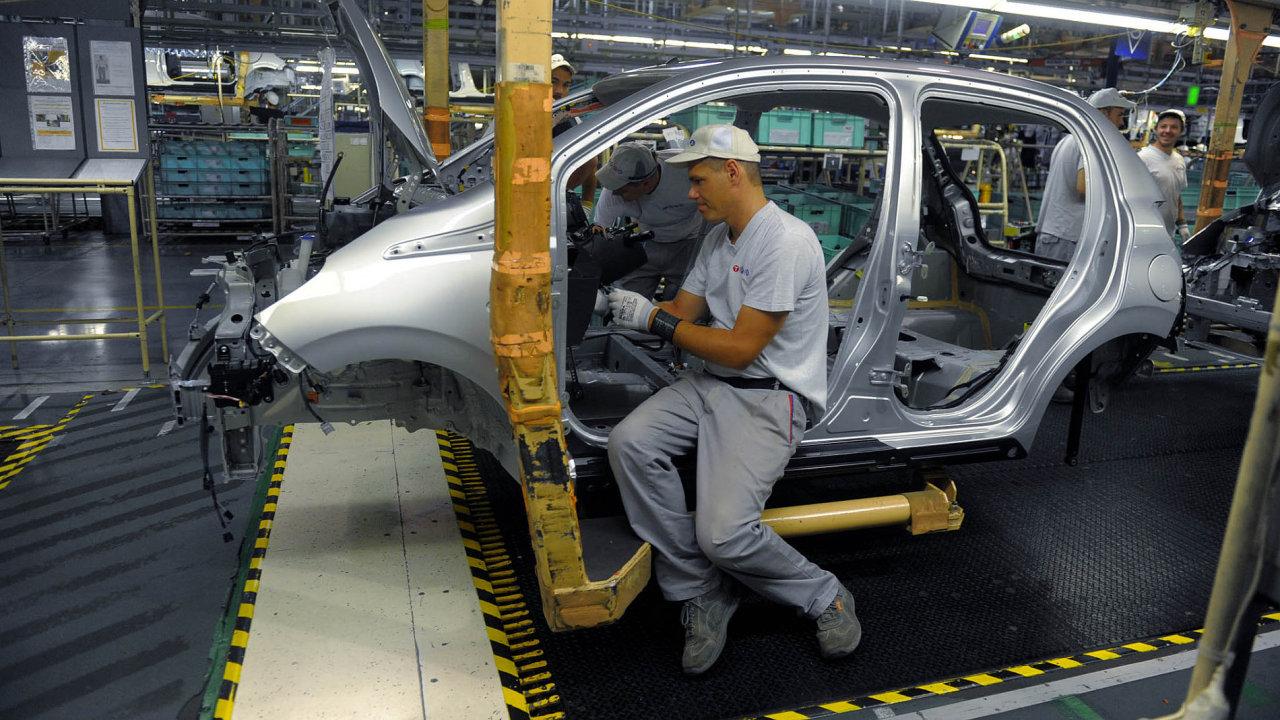 Průmysl (Ilustrační foto).
