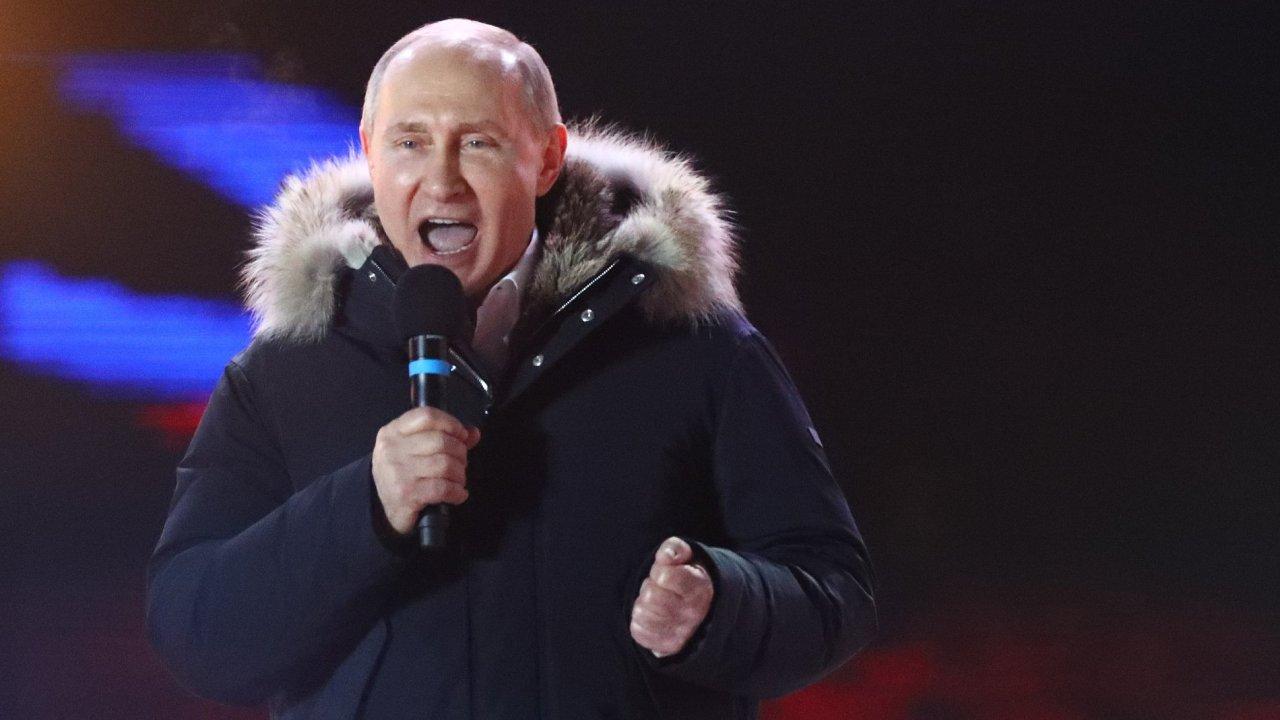 Vladimir Putin vyhrál volby
