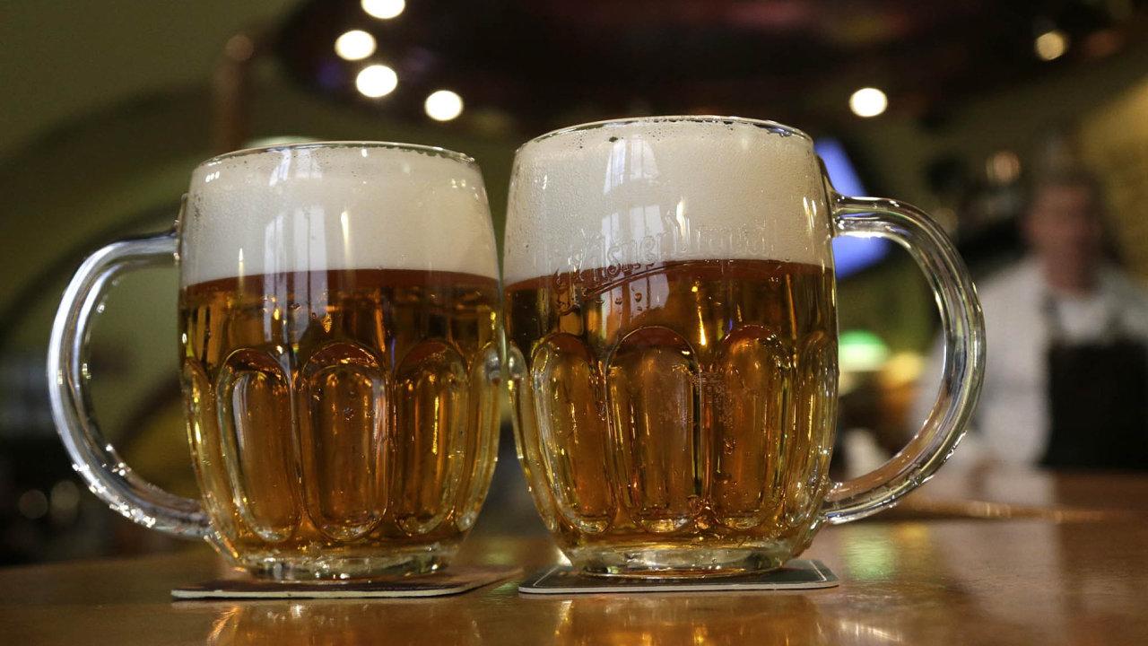 Nižší DPH by měla také snížit cenu točeného piva.