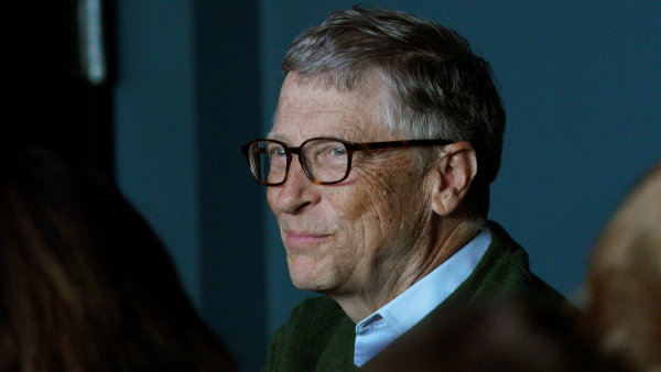 Bill Gates, předseda představenstva společnosti Microsoft.