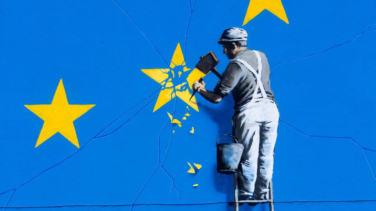 """Pokud by došlo na """"tvrdý brexit"""", znamenalo by to pro většinu firem komplikace - Ilustrační foto."""
