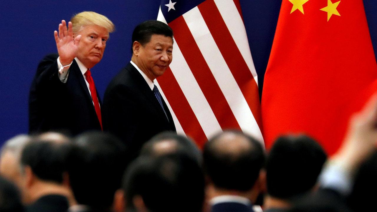 Vztahy mezi USA a Čínou se přiostřují. Obchodní válka by silně zasáhla i Evropu.