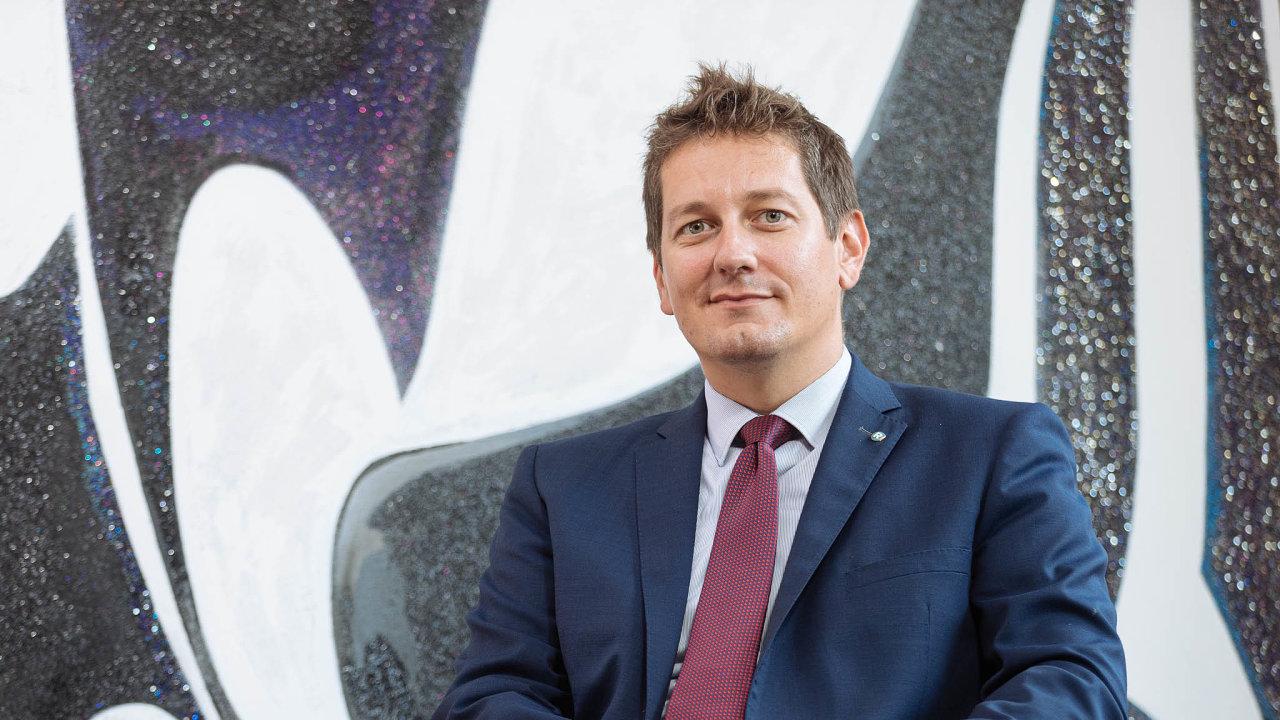 Spoluautor. Právník Josef Donát spolupracoval na tvorbě novely zákona o bankách.