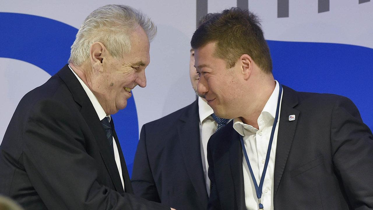 Najít oblast, kde by si Miloš Zeman s Tomiem Okamurou nerozuměli, dá docela práci. Stejně jako dostat z hlavy popěvek