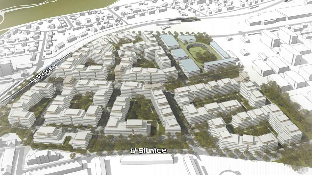 Projekt Central Group na Praze 6 mezi Ruzyní a Libocí, Westpoint