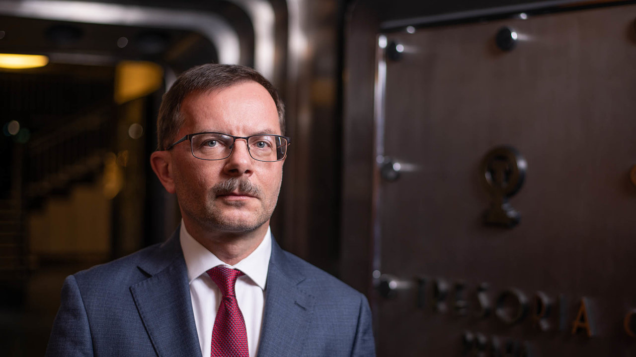 Jan Frait, ředitel sekce finanční stability vČNB.
