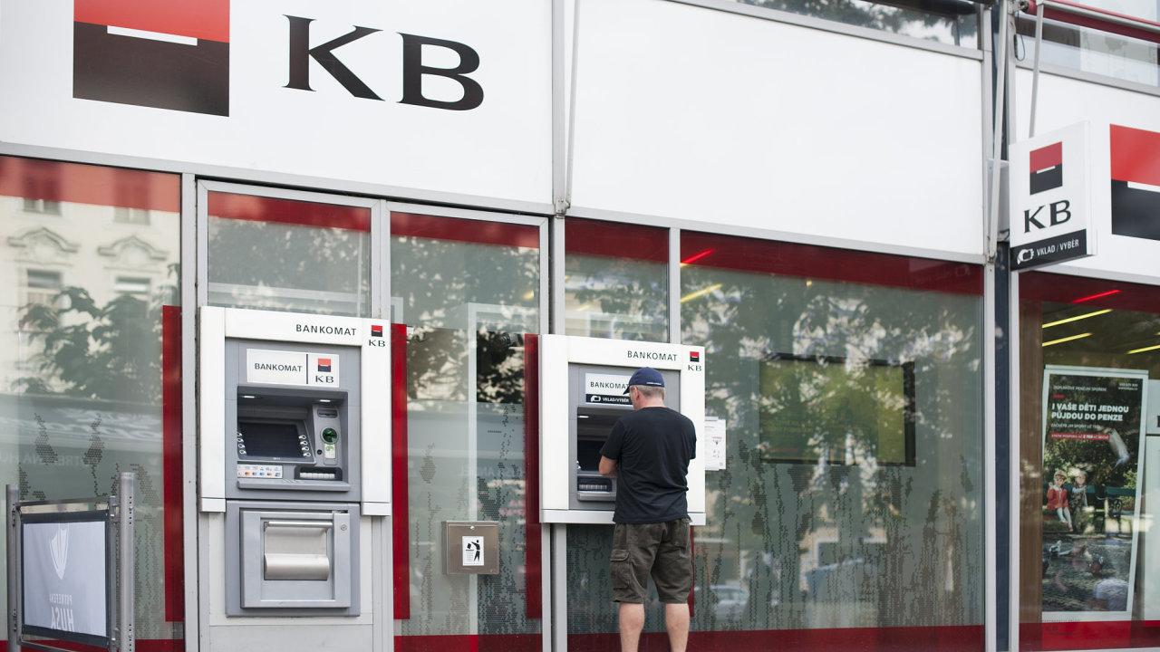 Komerční banka, KB, ilustrační fotografie